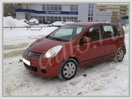 ???? ?????? Nissan Note 1.6 MT