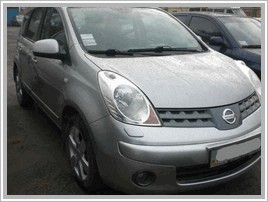 ???? ?????? Nissan Note 1.6 AT